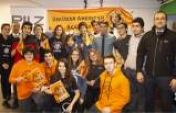 Pilz Türkiye'den robotiğe önemli destek