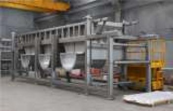 60 tonluk 316L paslanmaz çelik projesi tamamlandı
