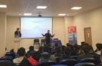 Kompansatör ve buhar uygulamaları öğrencilere anlatıldı