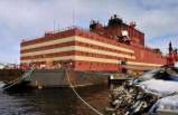 Dünyanın tek yüzer nükleer güç santrali