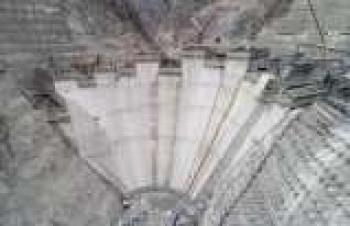 Yusufeli Barajı'nda gövde yüksekliği 100 metreye ulaştı