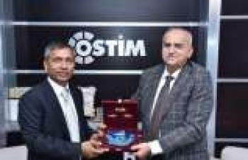 Bangladeş Büyükelçiliği'nden OSTİM OSB ziyareti