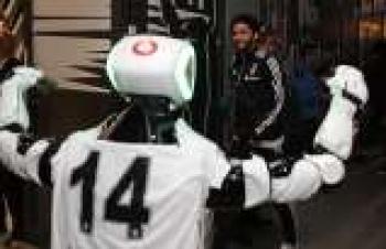 Derbi izleyen ilk robot