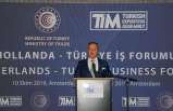 Hollanda-Türkiye İş Forumu yapıldı