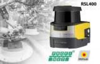 AGV'ler için emniyetli lazer alan tarayıcılar