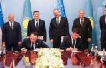 Özbek-Kazak Forumu'nda 500 milyon dolarlık ortaklık