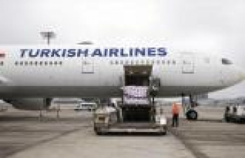 THY'nin yolcu uçaklarıyla da kargo taşıması gerçekleştiriyor