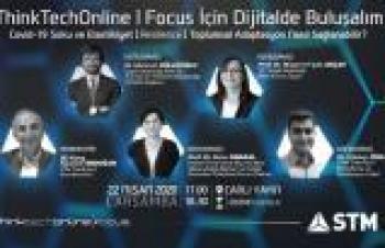 """STM ThinkTech, Kovid-19 için online """"beyin fırtınası"""" gerçekleştirecek"""