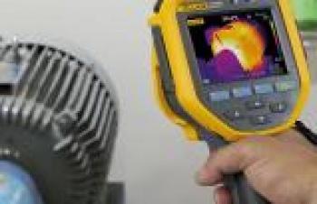 Termal görüntüleme cihazıyla motor inceleme