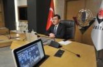 TÜBİTAK Başkanı Mandal STAR bursiyerleriyle sanal toplantıda bir araya geldi