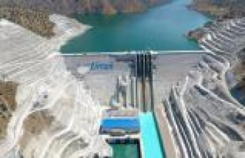 Avrupa'nın en büyük RCC tipi barajı açılıyor