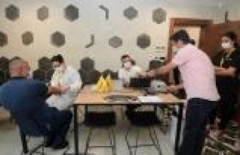 Bursa'da sanayi üretim tesislerinde antikor testleri sürüyor