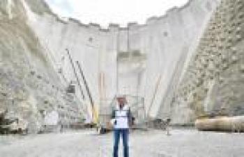 Yusufeli Barajı'nın yapımında son 50 metreye girildi