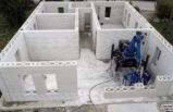 TÜRKİYE'DE BİR İLK! ROBOTİK 3D YAZICI İLE EV İNŞA EDİLDİ