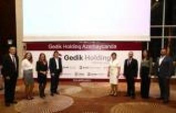 GEDİK KAYNAK İLK YURT DIŞI YATIRIMINI AZERBAYCAN'A YAPTI